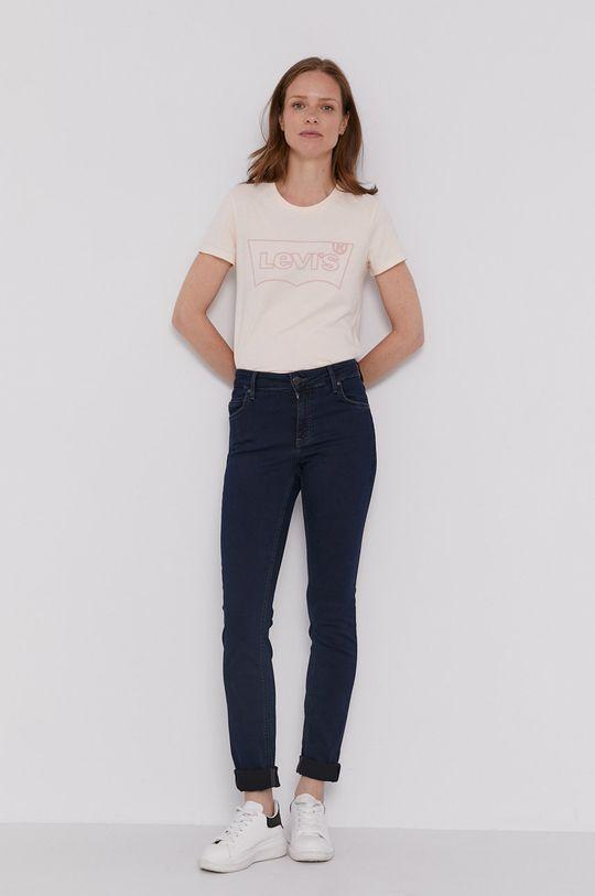 Levi's - T-shirt różowy