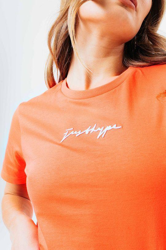 Hype - Tričko SIGNATURE mandarinková