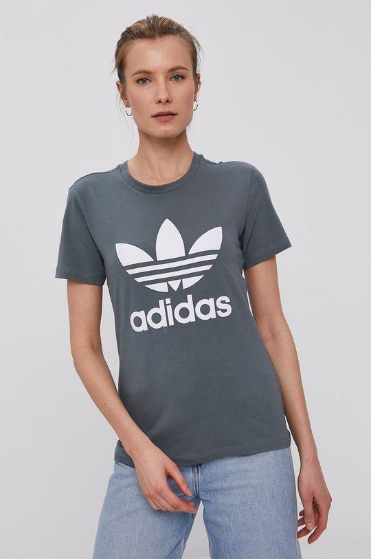 sivá adidas Originals - Tričko Dámsky