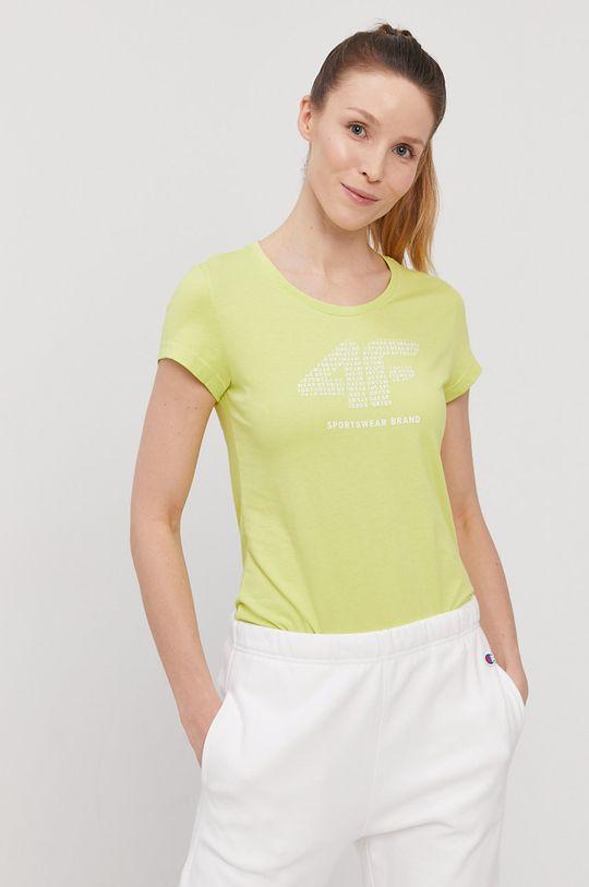 žlto-zelená 4F - Tričko Dámsky