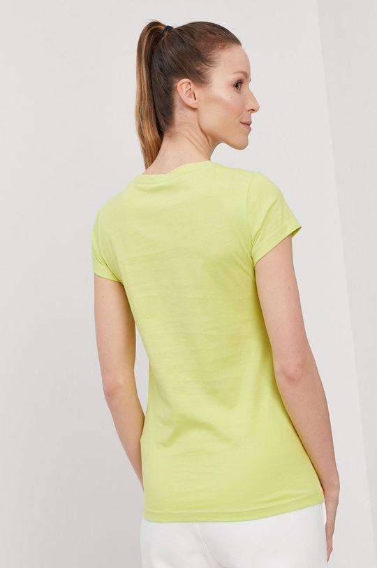 4F - Tričko žlto-zelená