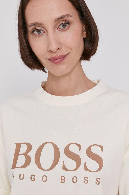 krémová Boss - Tričko