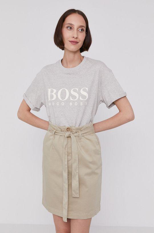 svetlosivá Boss - Tričko Dámsky