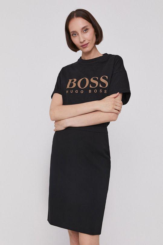 čierna Boss - Tričko Dámsky