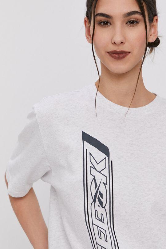 svetlosivá Reebok Classic - Tričko