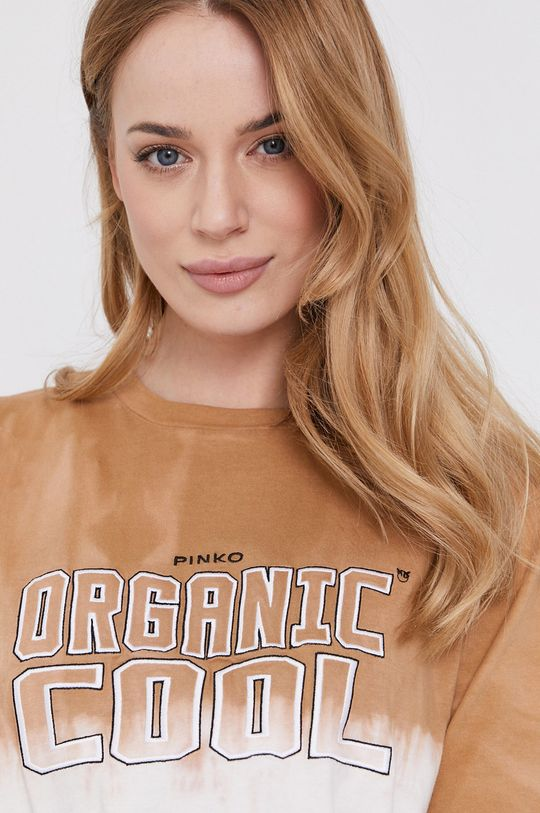beżowy Pinko - T-shirt