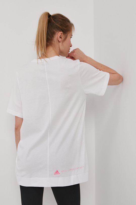 adidas by Stella McCartney - T-shirt 100 % Bawełna organiczna