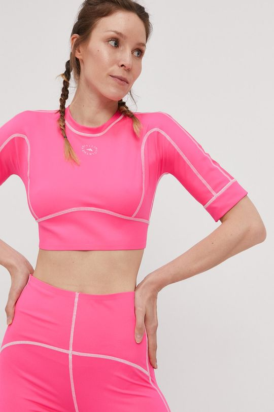 adidas by Stella McCartney - T-shirt 21 % Spandex, 79 % Poliester z recyklingu