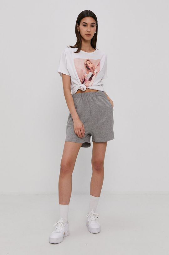 Haily's - T-shirt biały