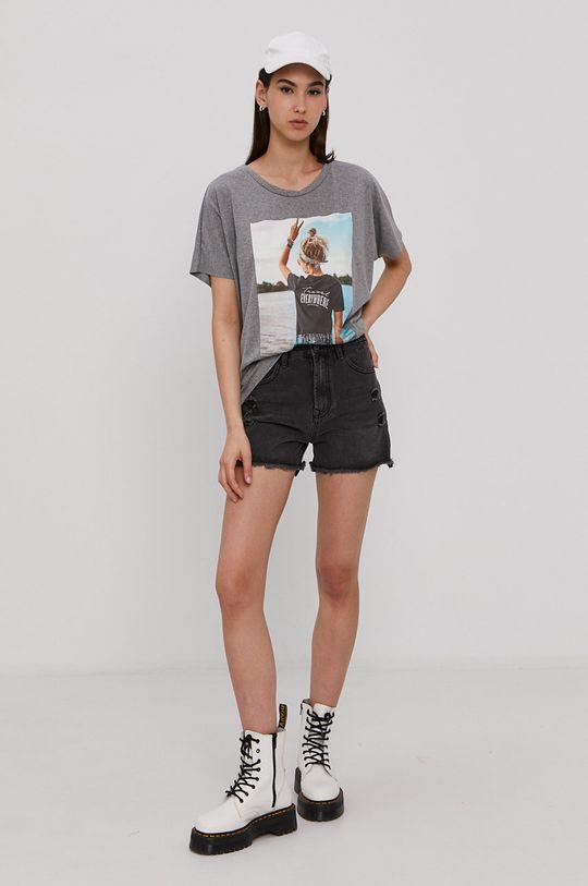 Haily's - T-shirt szary
