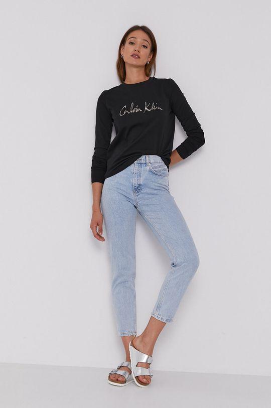 Calvin Klein - Longsleeve czarny