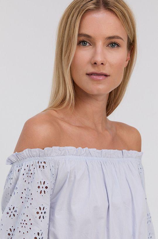 jasny niebieski Tally Weijl - Bluzka bawełniana