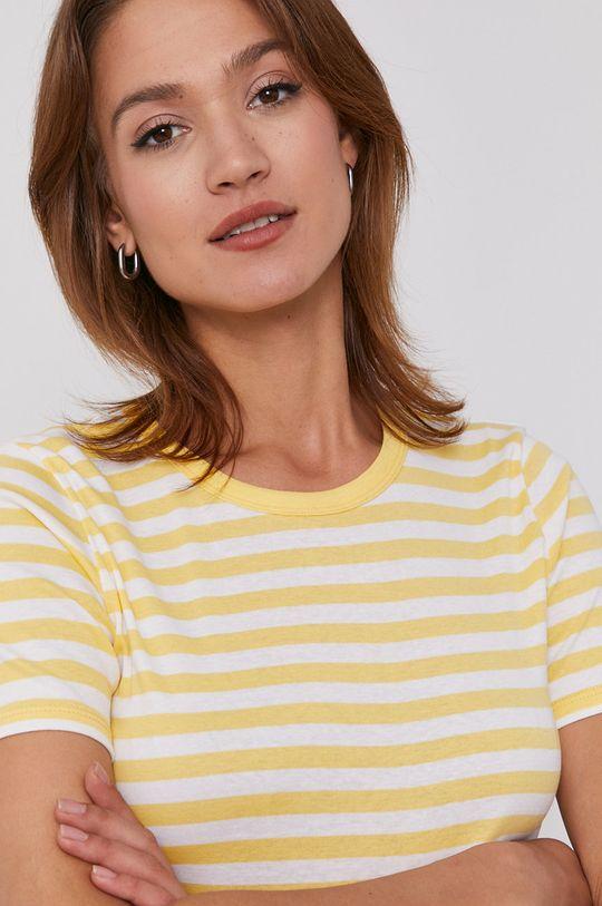 žlutá United Colors of Benetton - Tričko