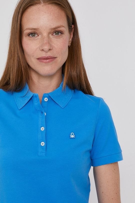 modrá United Colors of Benetton - Tričko