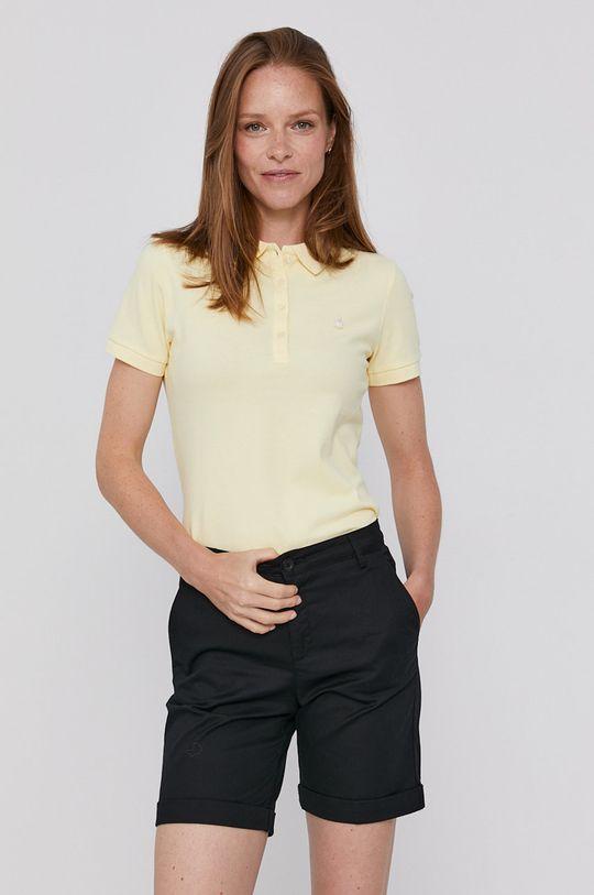 jasně žlutá United Colors of Benetton - Tričko
