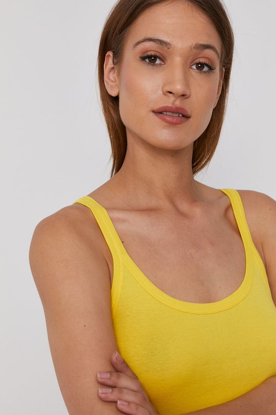 żółty United Colors of Benetton - Top