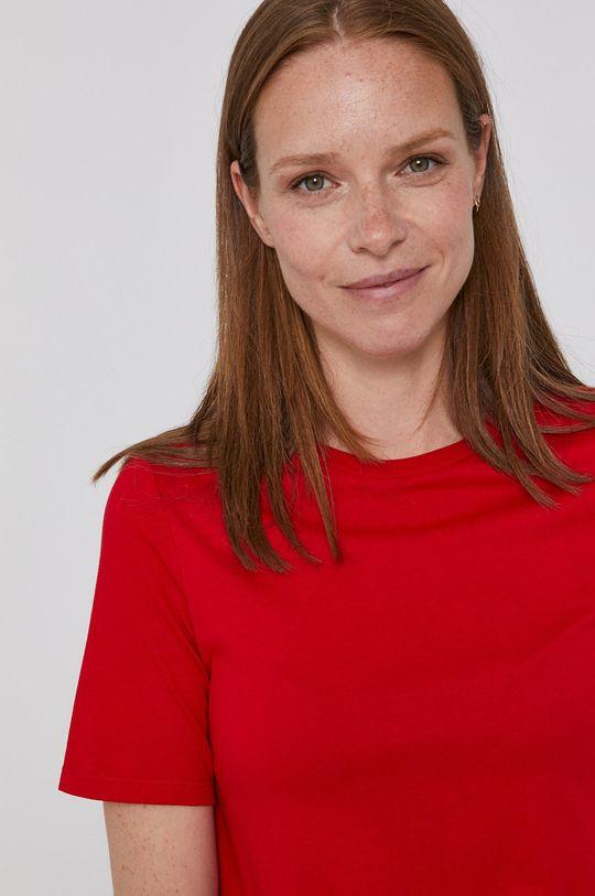 červená United Colors of Benetton - Tričko Dámský