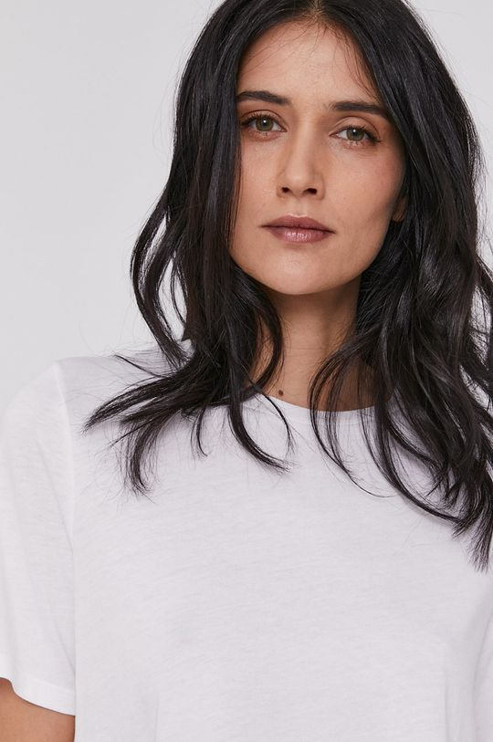 biały United Colors of Benetton - T-shirt