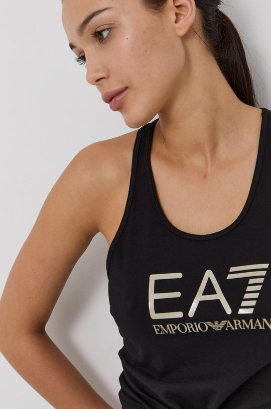 EA7 Emporio Armani - Top černá