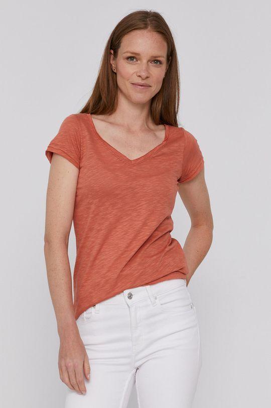Sisley - Tričko broskvová