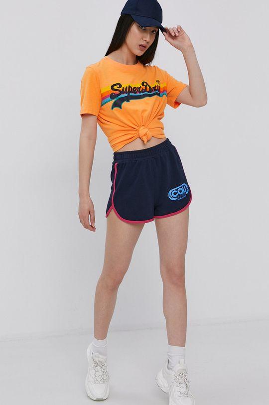 Superdry - Tričko oranžová
