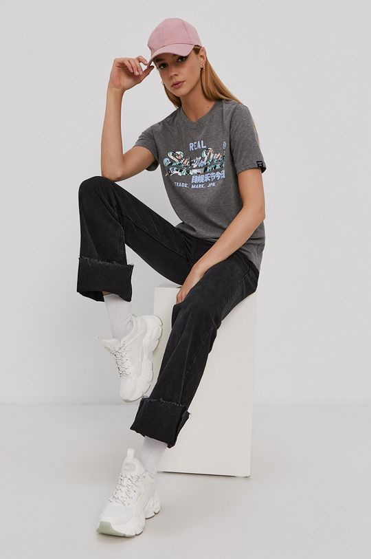 Superdry - T-shirt szary