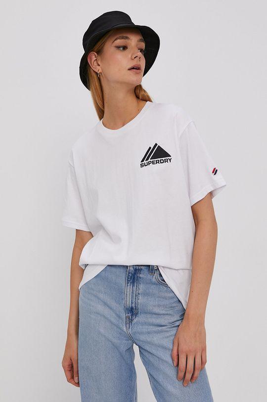 Superdry - T-shirt biały