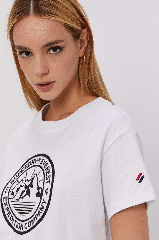bílá Superdry - Tričko