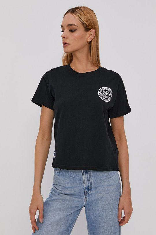 czarny Superdry - T-shirt Damski