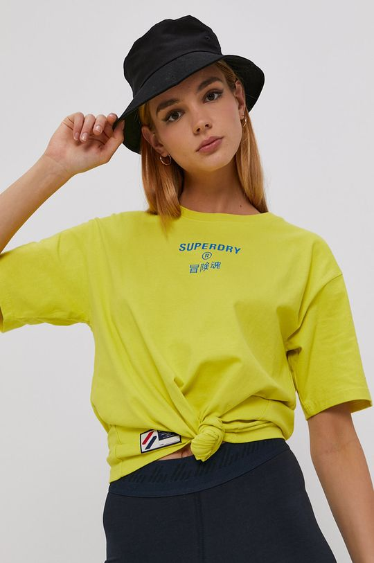 žlutá Superdry - Tričko