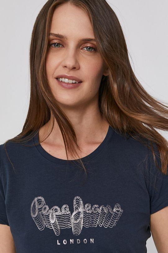Pepe Jeans - Bavlnené tričko ANNA Dámsky