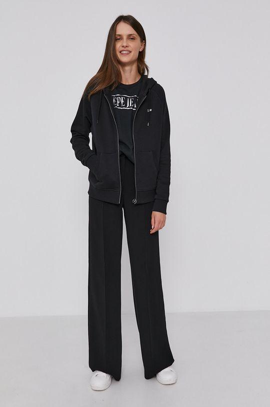 Pepe Jeans - T-shirt bawełniany BLANCA czarny
