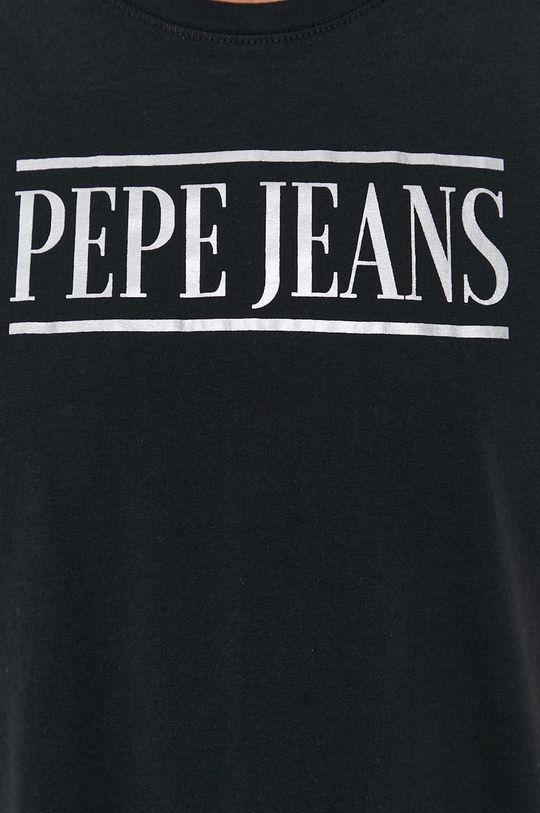 Pepe Jeans - T-shirt bawełniany BLANCA Damski