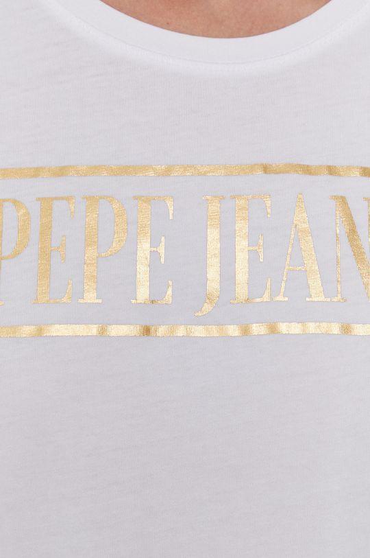 Pepe Jeans - T-shirt bawełniany BLANCA