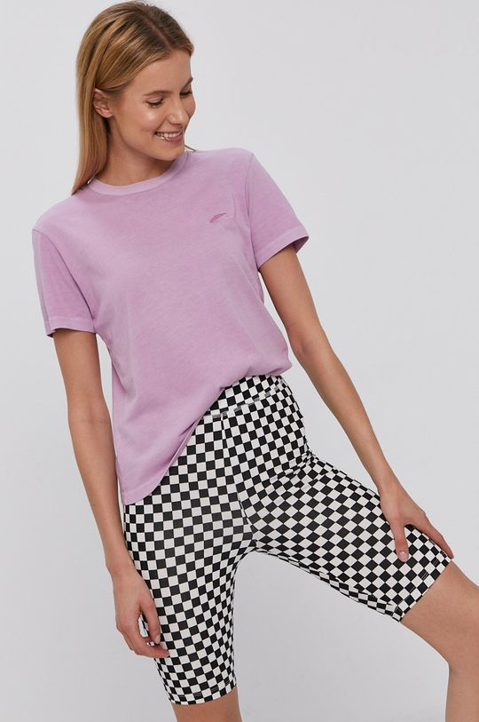 różowy Vans - T-shirt Damski