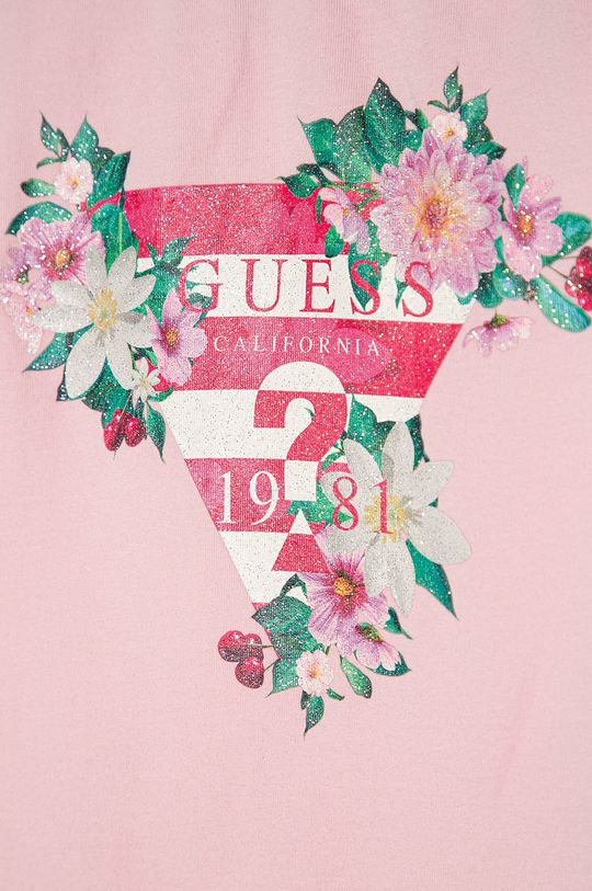 Guess - Dětský top 116-175 cm růžová