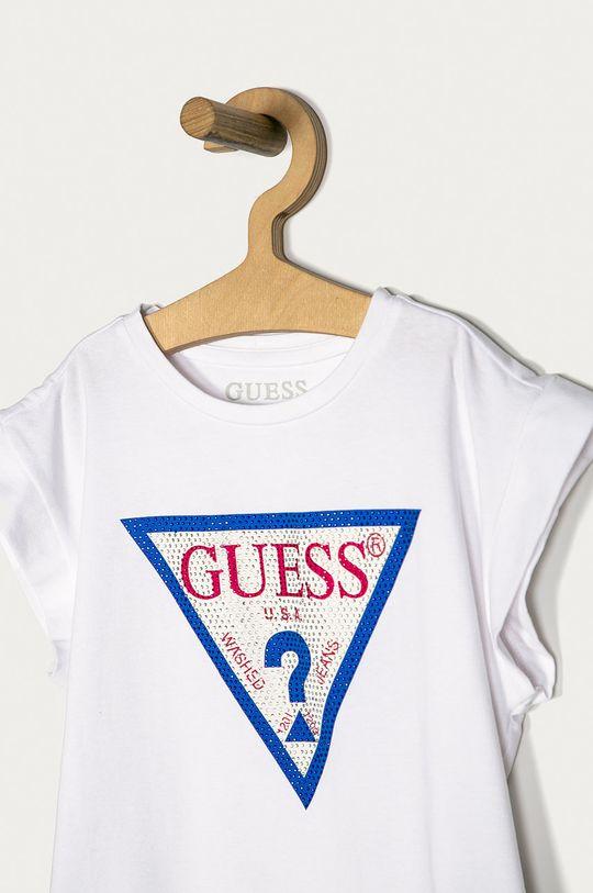 Guess - Detské tričko 116-175 cm  95% Bavlna, 5% Prírodná kožušina