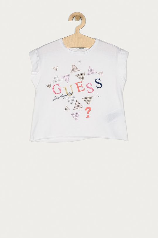 biela Guess - Detské tričko 116-175 cm Dievčenský