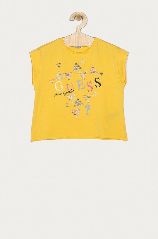 žlutá Guess - Dětské tričko 116-175 cm Dívčí