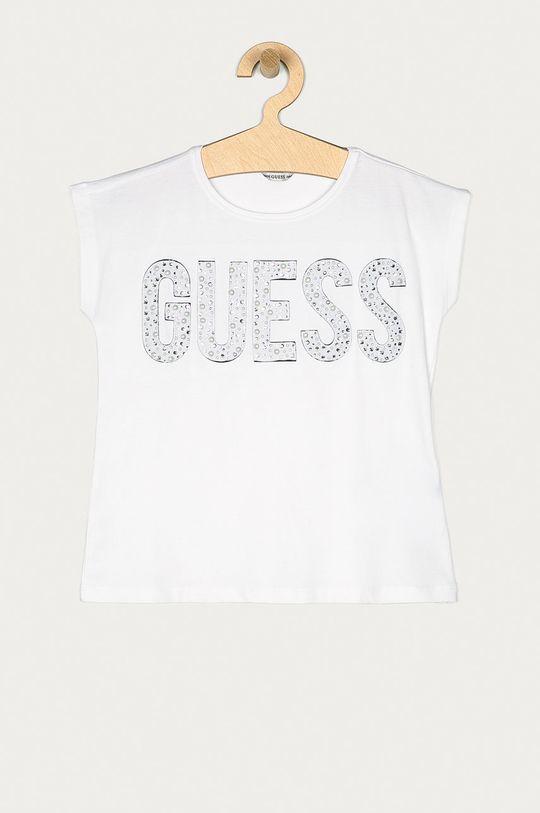 bílá Guess - Dětské tričko 116-175 cm Dívčí