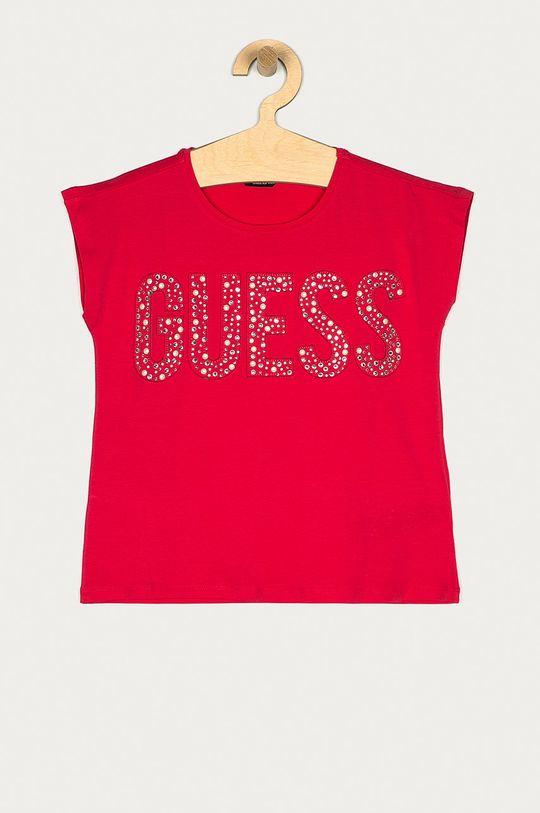 ostry różowy Guess - T-shirt dziecięcy 116-175 cm Dziewczęcy