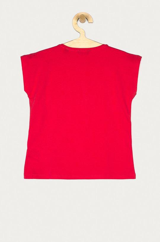 Guess - T-shirt dziecięcy 116-175 cm ostry różowy