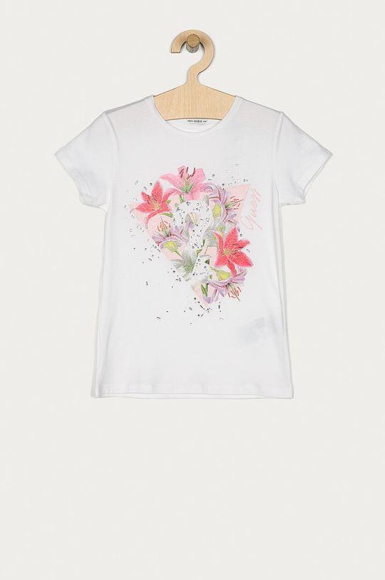 biały Guess - T-shirt dziecięcy 116-175 cm Dziewczęcy