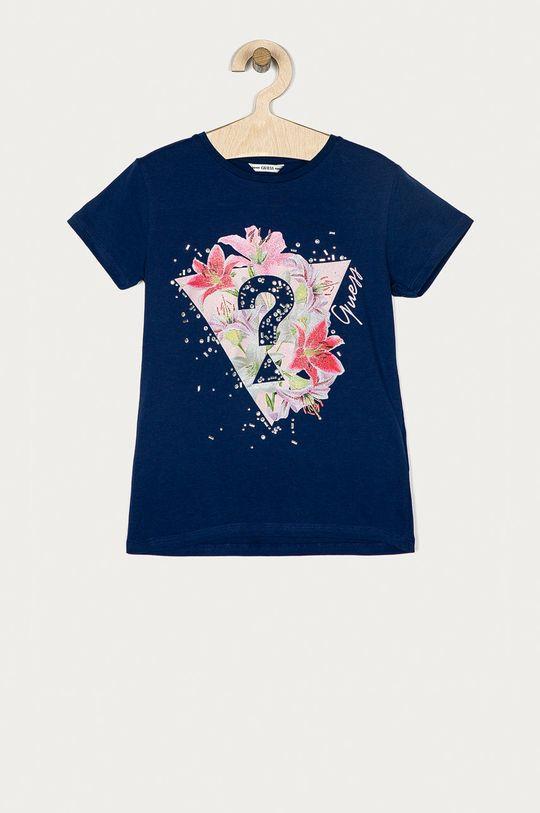 granatowy Guess - T-shirt dziecięcy 116-175 cm Dziewczęcy