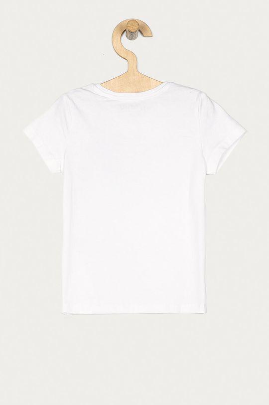 Guess - T-shirt dziecięcy 92-122 cm biały
