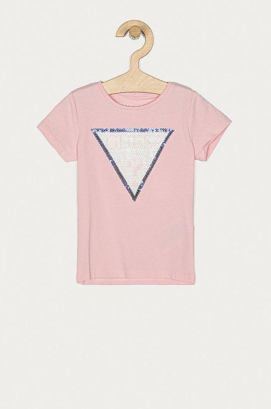 ružová Guess - Detské tričko 92-122 cm Dievčenský