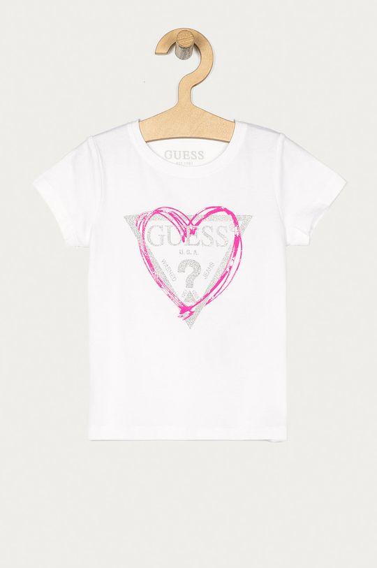 bílá Guess - Dětské tričko 92-122 cm Dívčí