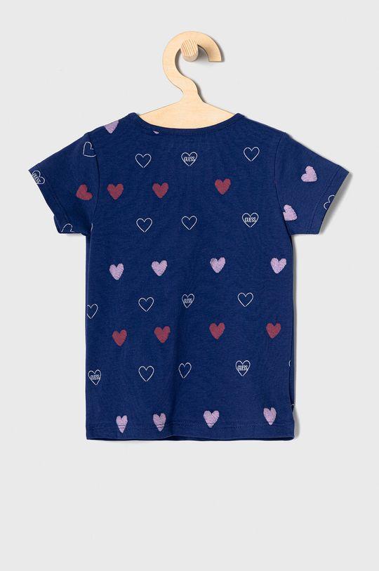 Guess - T-shirt dziecięcy 92-122 cm granatowy