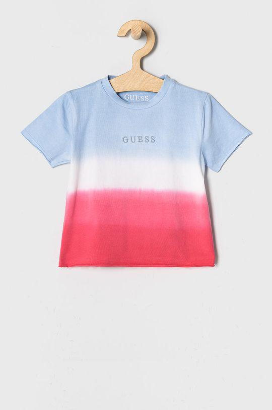 multicolor Guess - T-shirt dziecięcy 92-122 cm Dziewczęcy