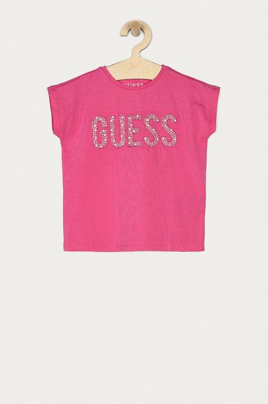 růžová Guess - Dětské tričko 92-122 cm Dívčí